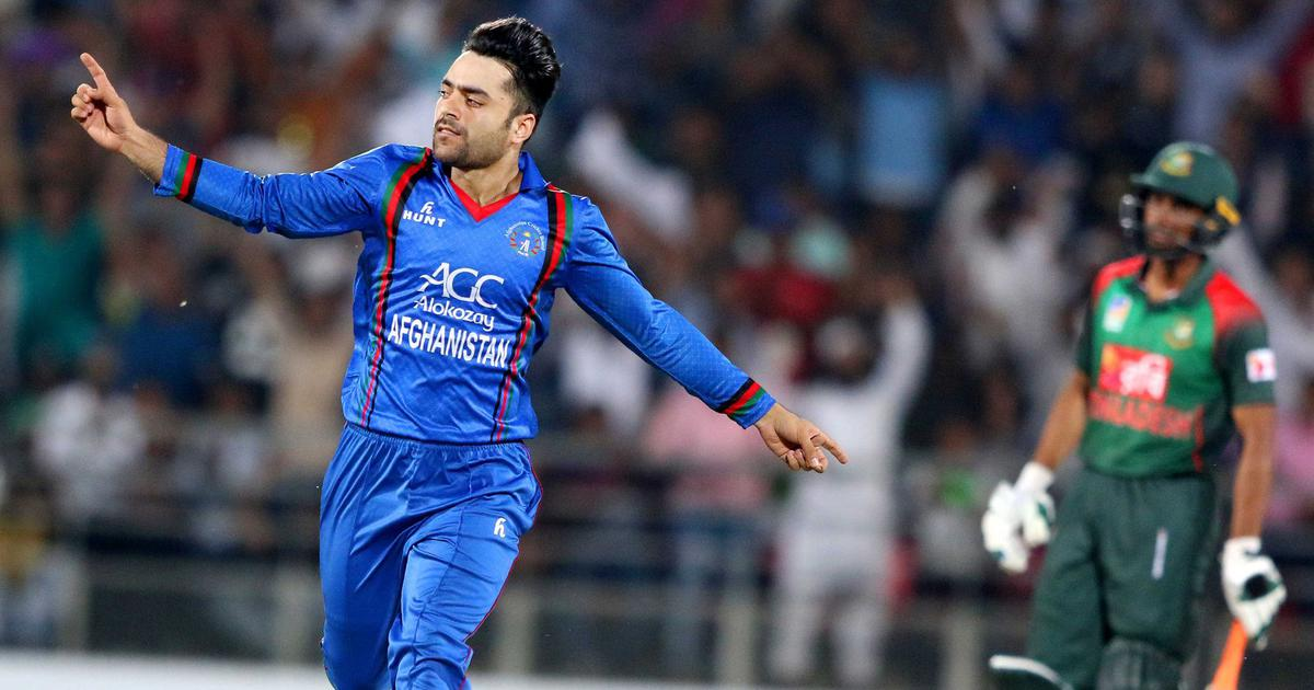 Khan spins Afghanistan to T20 series sweep over Bangladesh