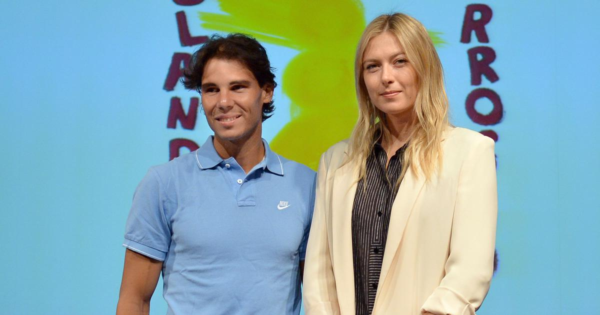 Watch: When Rafa Nadal and Maria Sharapova played each other in a hitting session on clay