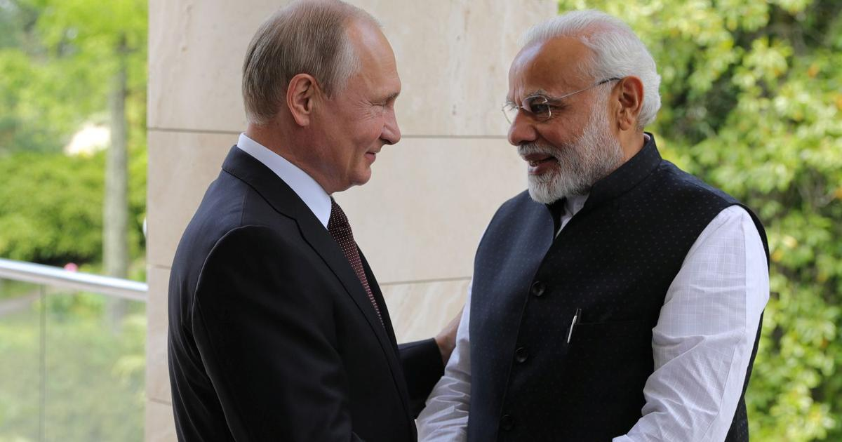 Russian President Vladimir Putin to visit India in October for annual bilateral summit
