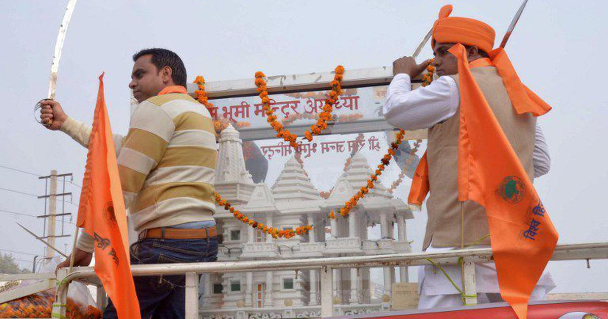 Amit Shah, Yogi Adityanath meet NRI donors pressing for work to begin on Ram temple in Ayodhya