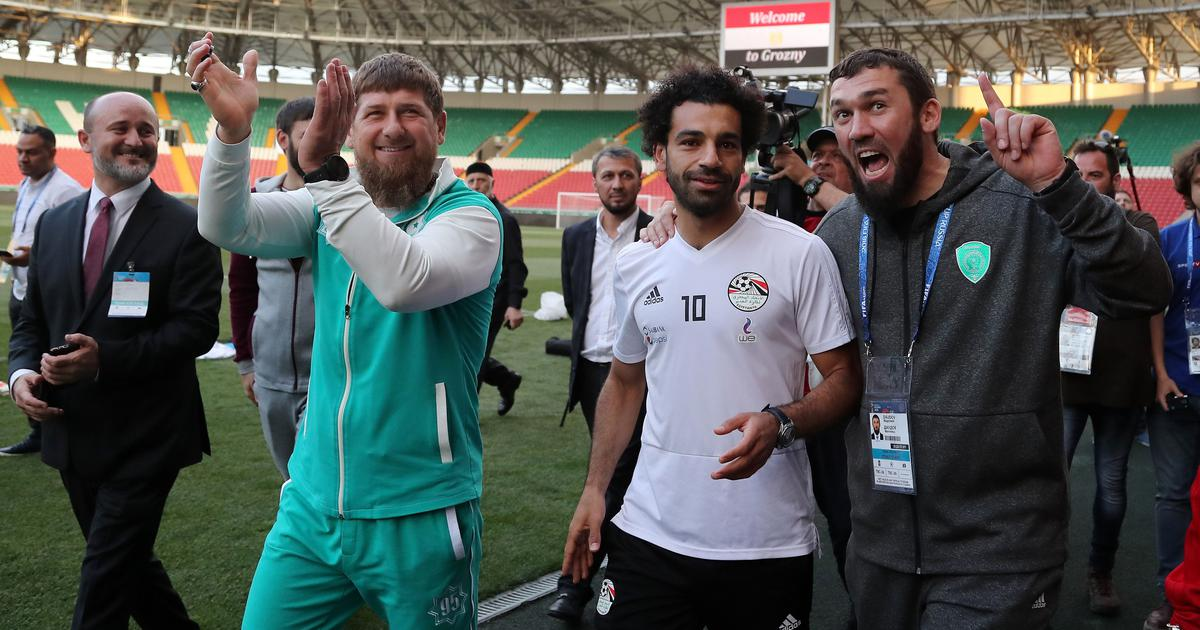 World Cup: Photo with Chechnya strongman lands Mohamed Salah in hot water
