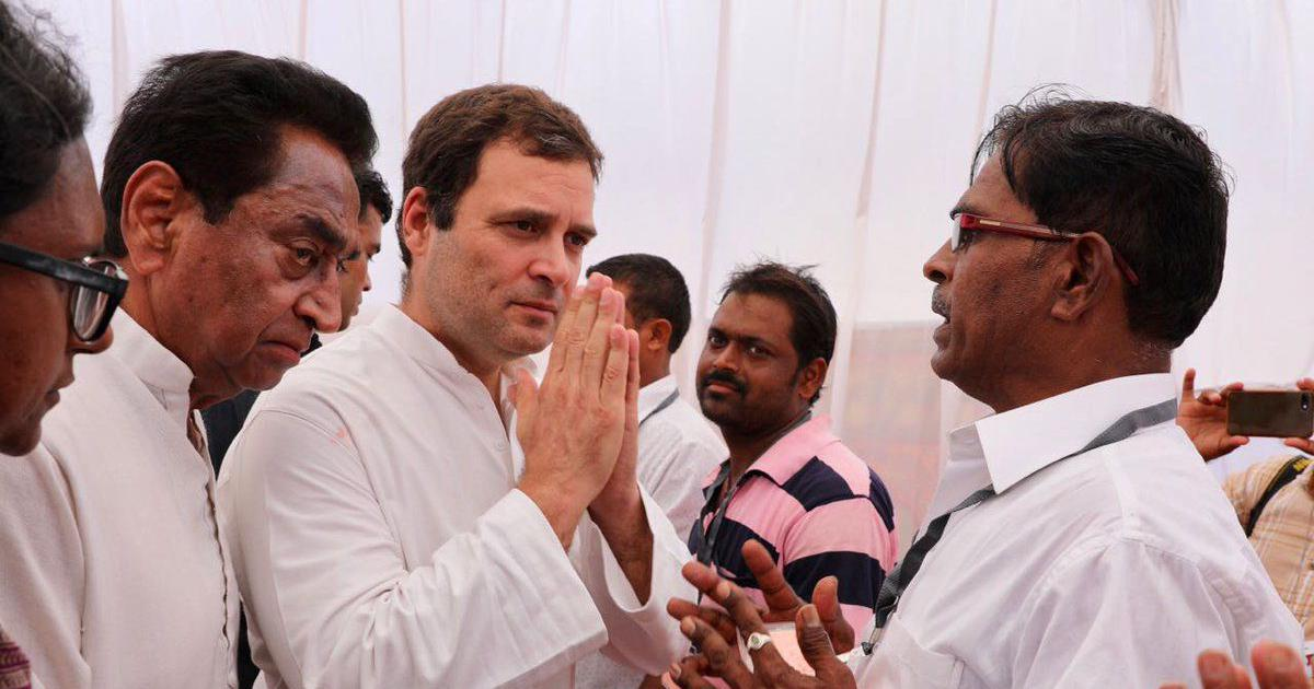 'Congress government will waive farmer loans in 10 days if voted to power': Rahul Gandhi in MP