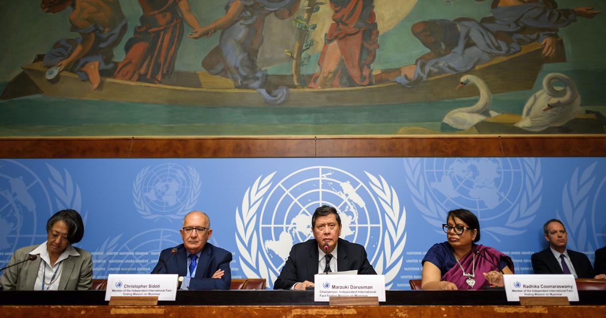 Myanmar: UN report calls for army chief and five other generals to be prosecuted for genocide