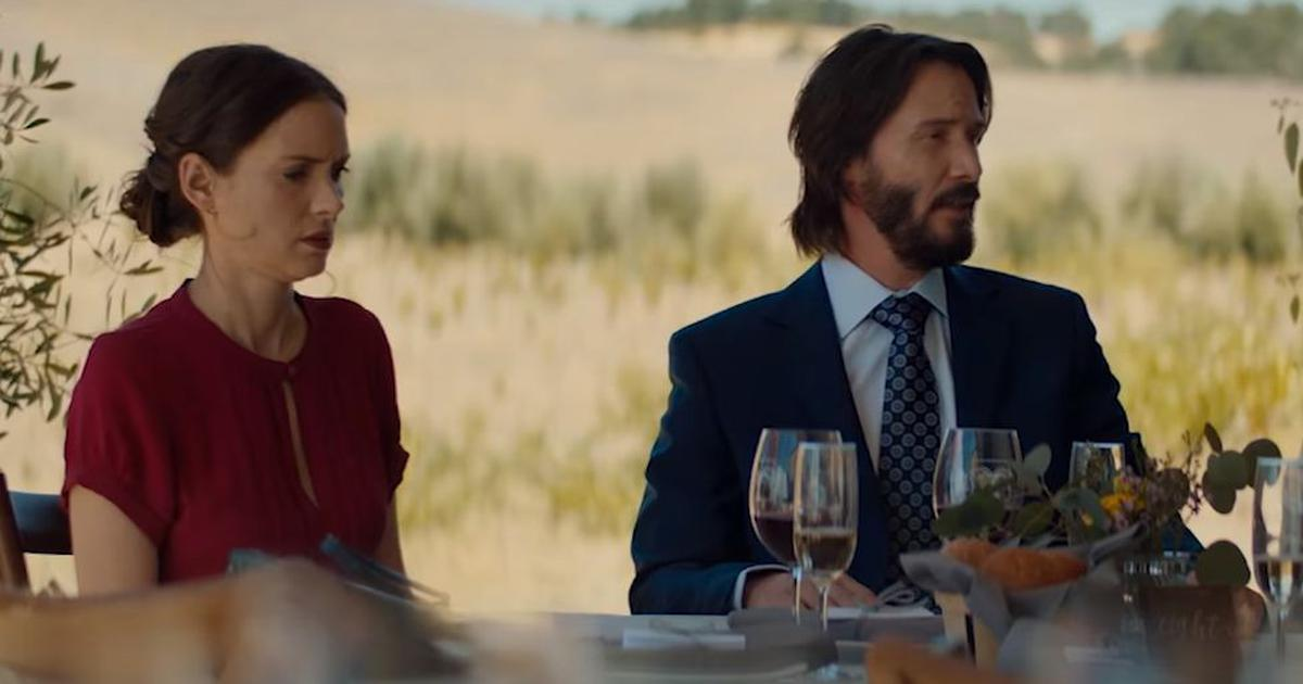 'Destination Wedding' trailer: Keanu Reeves and Winona Ryder aren't feeling the love