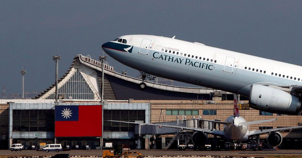 China is dragging international airlines into its bitter dispute over Taiwan's sovereignty