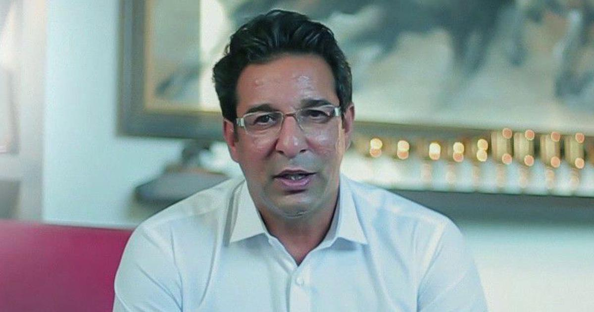 Sad that people still use my name to promote themselves: Wasim Akram