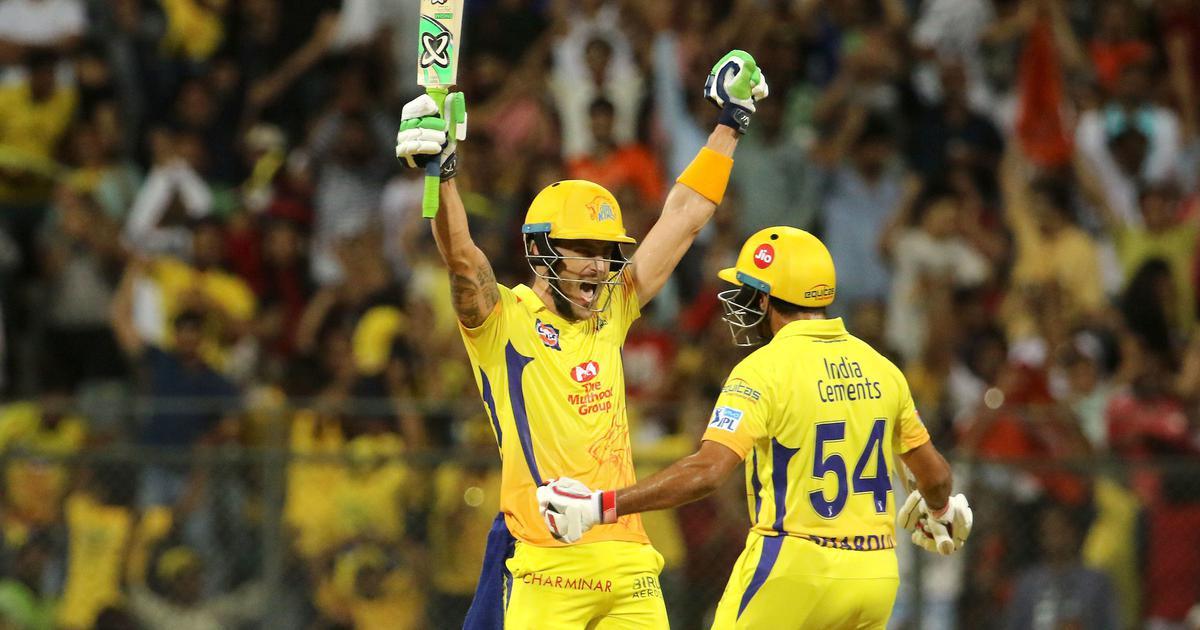चेन्नई सुपर किंग्स रिकॉर्ड सातवीं बार आईपीएल के फाइनल में पहुंची
