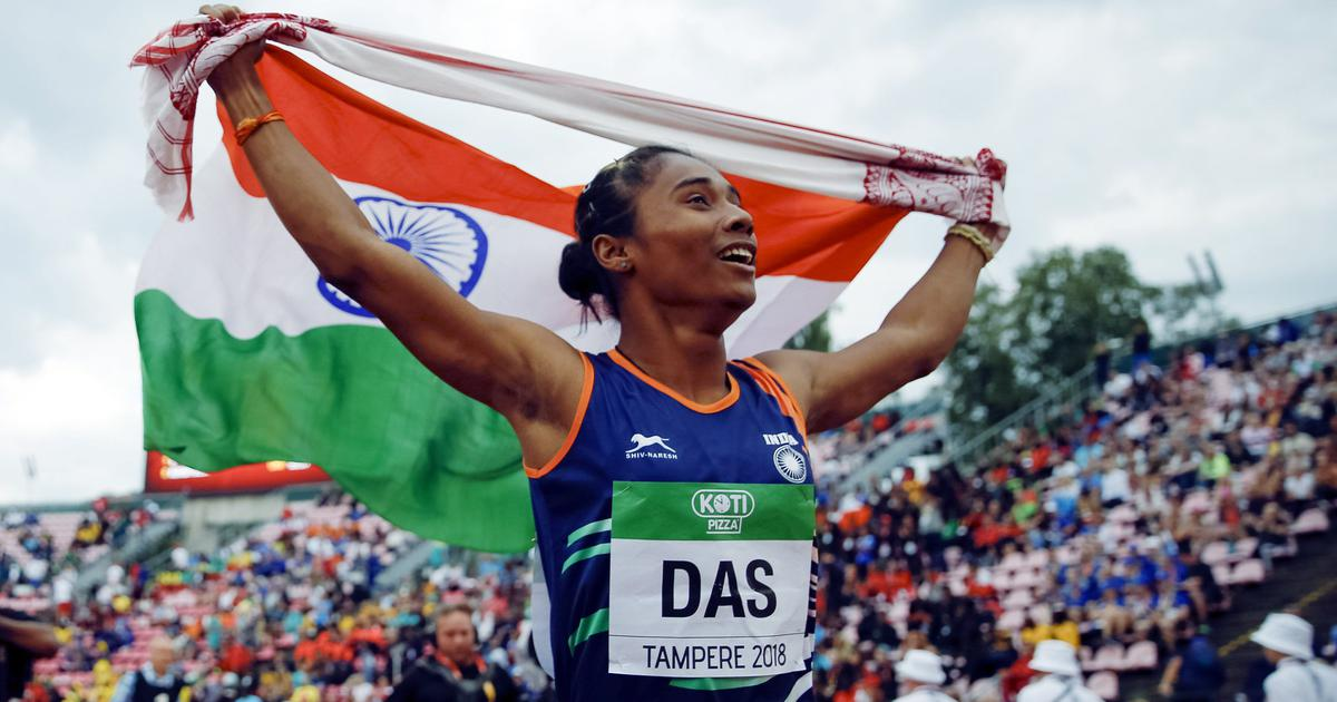 Champion sprinter Hima Das signs multi-crore deal with sports management firm