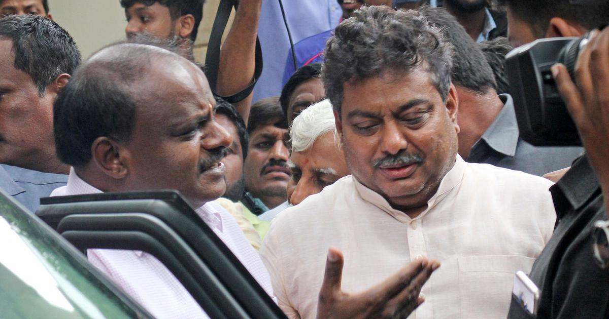 Karnataka CM Kumaraswamy asks Congress to pacify MLAs who are upset at being denied Cabinet berths