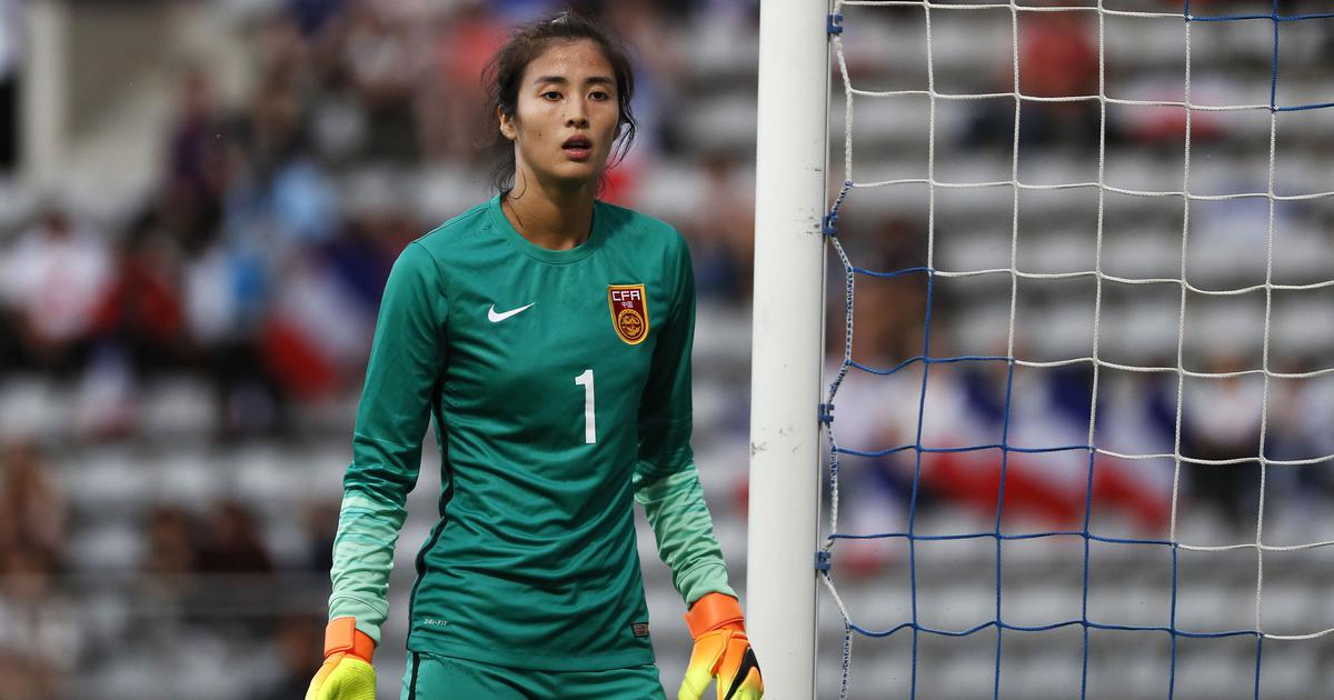 Meet Zhao Lina, the goalie who rejected modelling to become the face of China women's football