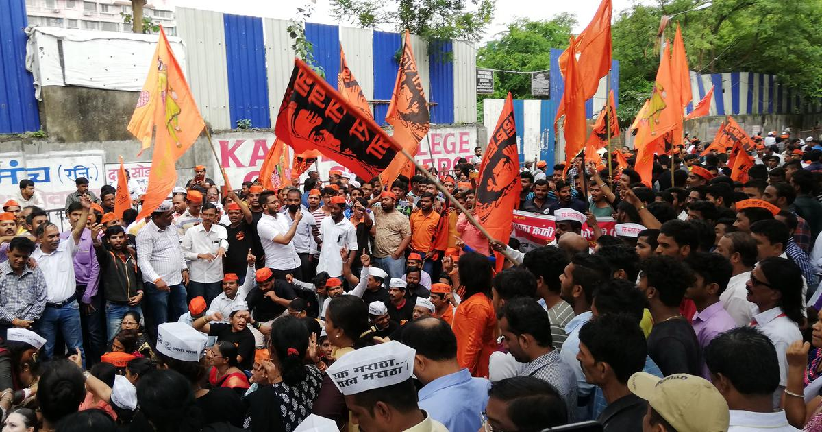 Maratha quota stir: At least 185 people arrested for violence and vandalism in Pune