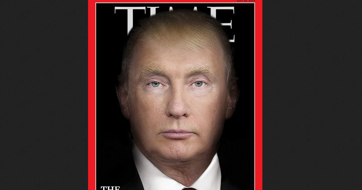 TIME Magazine morphs Trump, Putin's faces on cover for 'Summit Crisis' story