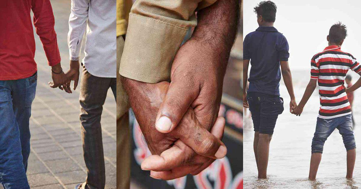 A British photographer captures the Indian phenomenon of men non-romantically holding hands