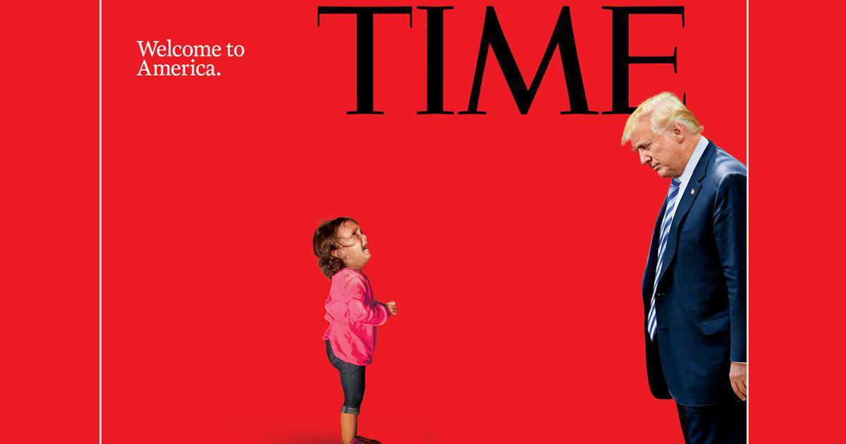 डोनाल्ड ट्रंप के सामने रो रही इस बच्ची की असल कहानी क्या है?