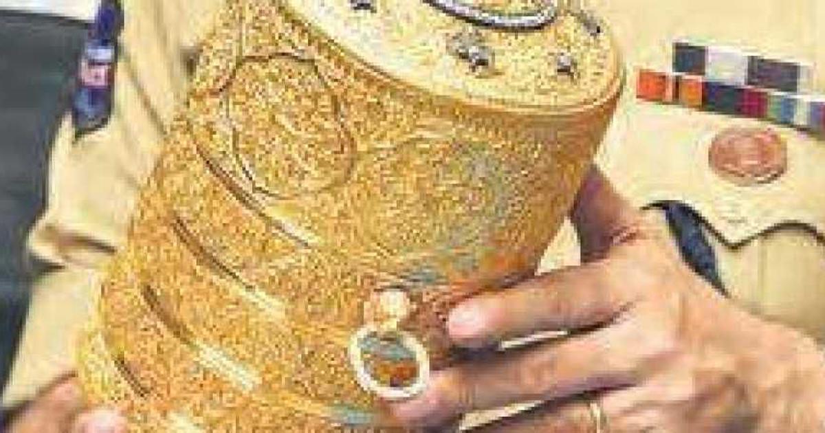 हैदराबाद : एक हफ़्ते तक निज़ाम के सोने के टिफिन में भोजन करने वाले चोर अब जेल की रोटी तोड़ेंगे