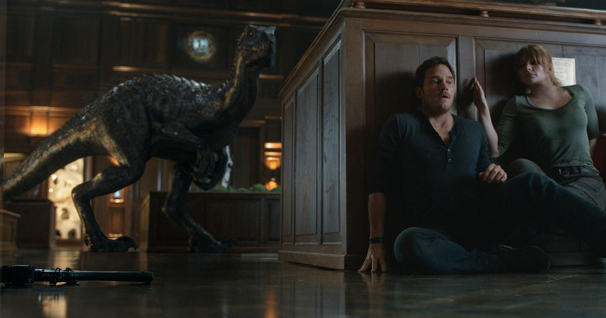 In photos: Dinosaurs run wild once again in 'Jurassic World: Fallen Kingdom'