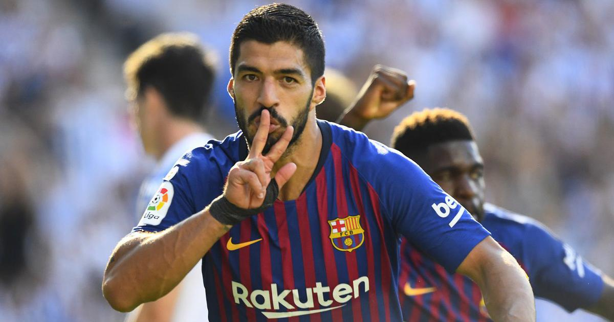 La Liga: Suarez, Dembele score in Barcelona's win; Athletic Bilbao hold Real Madrid