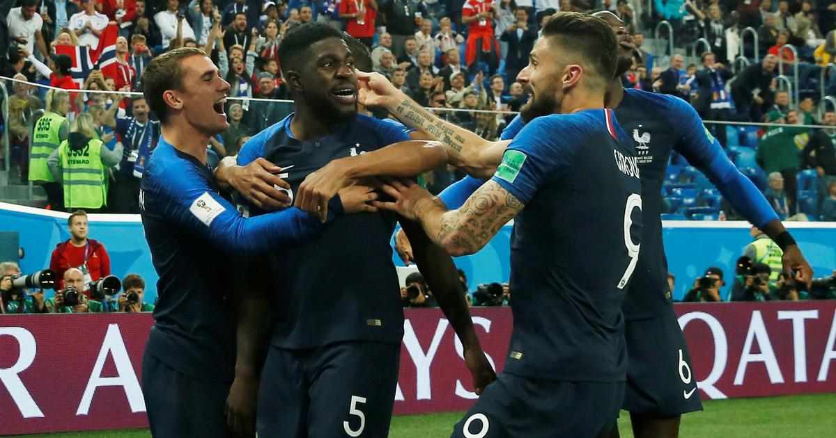 World Cup, semi-final, Belgium vs France – as it happened: Resolute Les Blues enter final