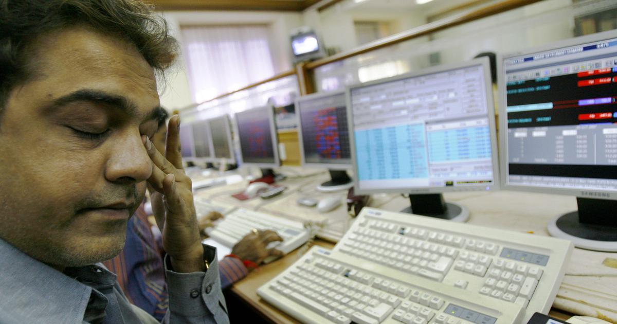 Sensex, Nifty close lower as BJP appears to fall short of majority mark in Karnataka