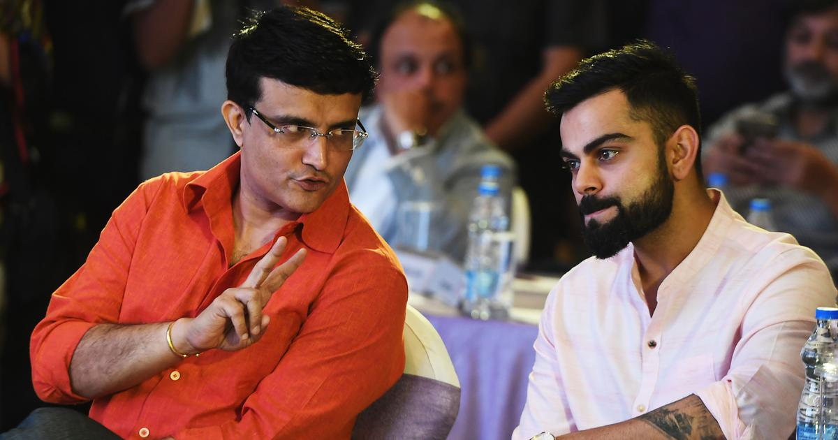 Kohli to decide availability for Bangladesh T20Is, will speak to him on October 24: Ganguly