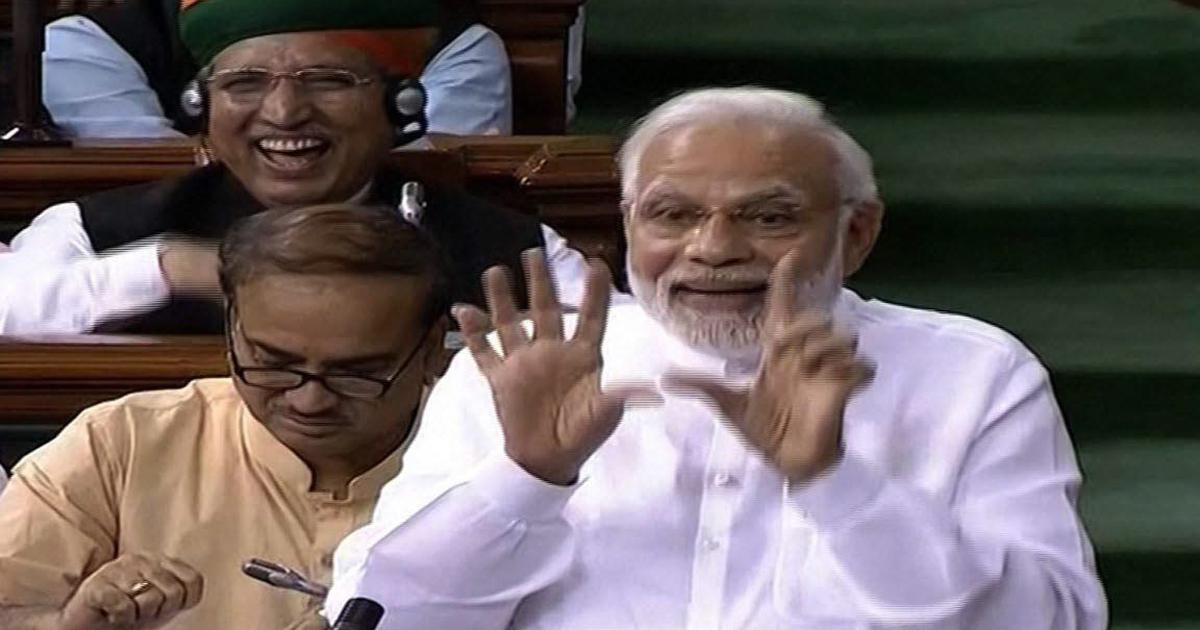 Modi comfortably wins the no-confidence vote – but it is unclear if he carried the day