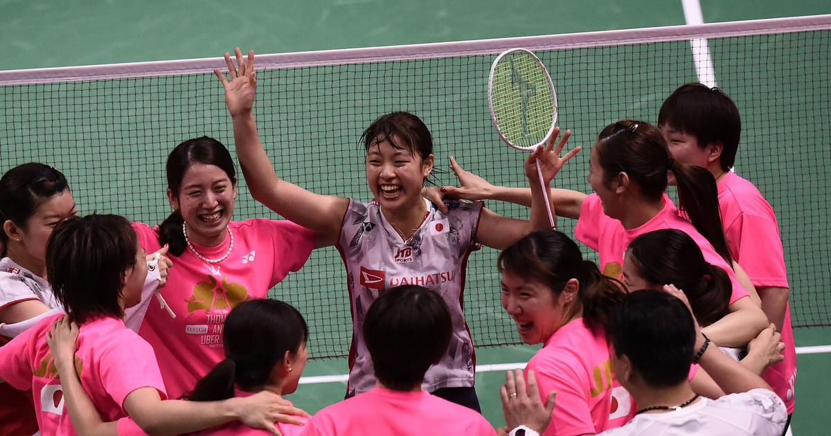 Badminton: Japan survive scare against Russia in Sudirman Cup after resting Kento Momota