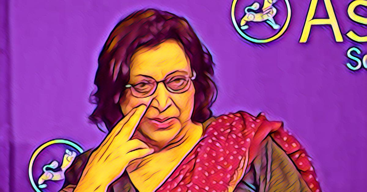 Pakistani poet Fahmida Riaz is 72. These poems show she is in relentless pursuit of a new order