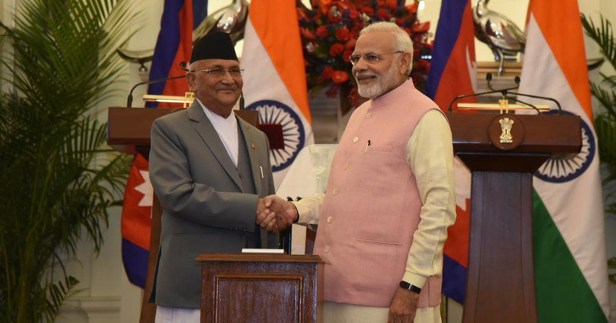 Nepal PM Oli speaks to Modi for the first time after map row, wishes India on Independence Day