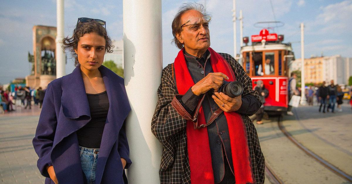 In film on Raghu Rai, a daughter looks up to the light and tries to emerge from under the shadow