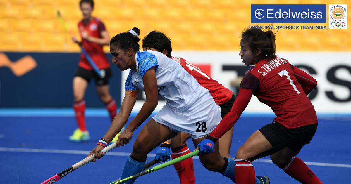 Asian Games hockey: Rani Rampal's hat-trick helps India beat Thailand 5-0 and finish atop Pool B