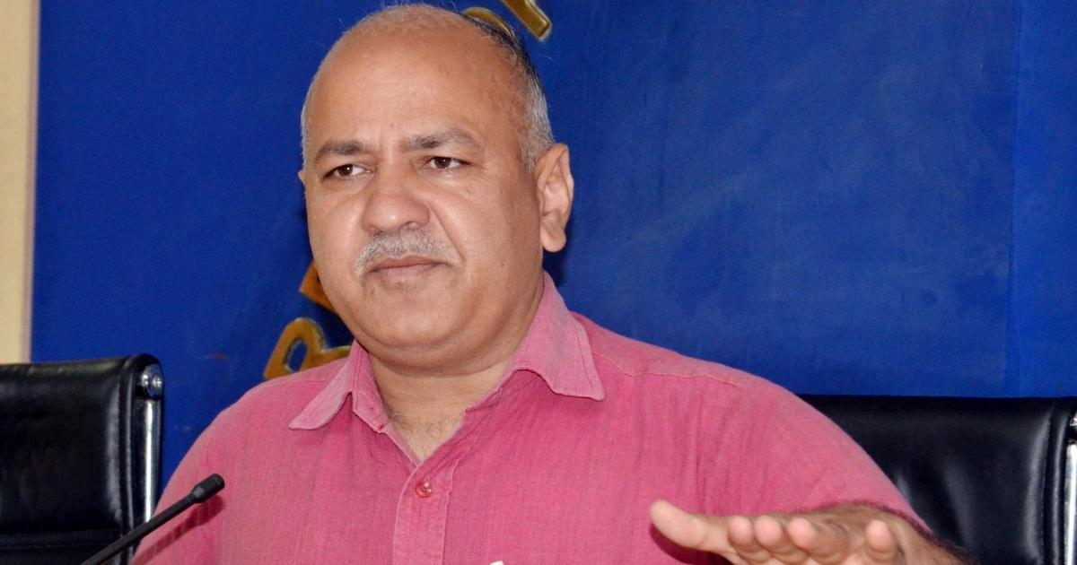 दिल्ली : उपराज्यपाल के घर पर धरने में शामिल उपमुख्यमंत्री मनीष सिसोदिया ने भी अनशन शुरू किया