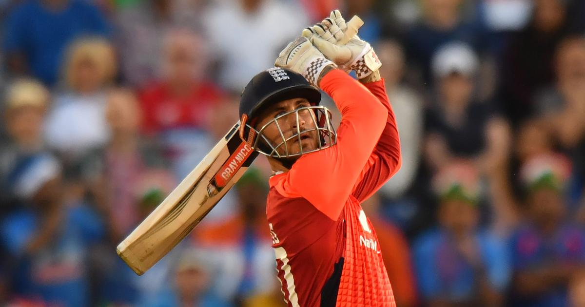 Alex Hales keeps nerve as England down India in thriller to level T20I series 1-1