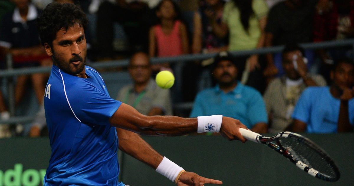 Indian tennis: Sasikumar Mukund, Saketh Myneni reach men's singles second round at Bengaluru Open
