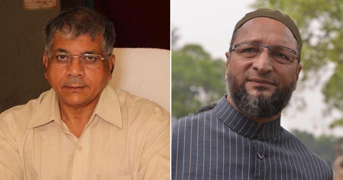 Prakash Ambedkar-Asaduddin Owaisi tie-up in Maharashtra is likely to help the BJP
