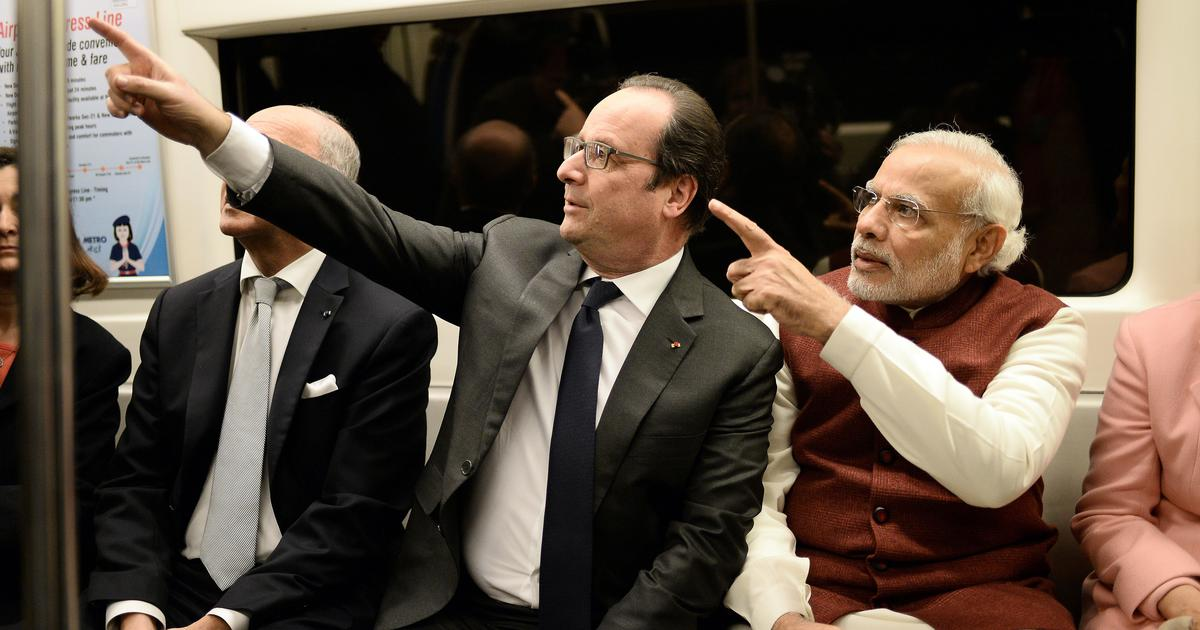 Rafale deal: France says it has no role in choosing partners for French companies