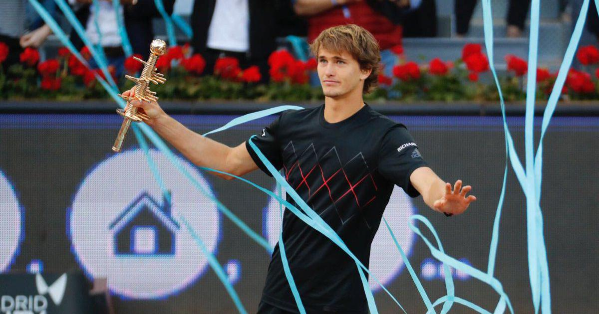 Madrid Open: Zverev steamrolls past Thiem to lift his third Masters title