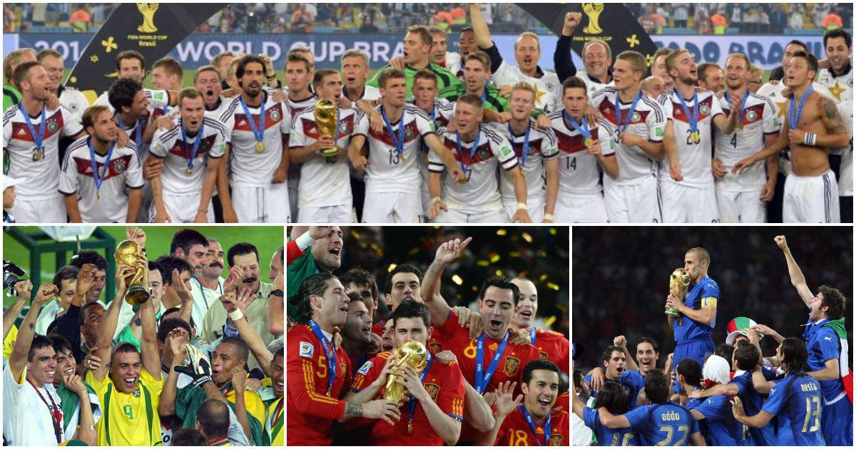 A brief history of Fifa World Cup: In the 21st century, European nations assert their control