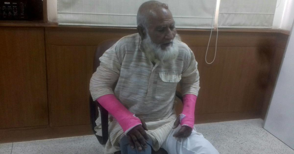 Elderly Muslim man who survived Hapur lynching recounts the terror, seeks a fair investigation