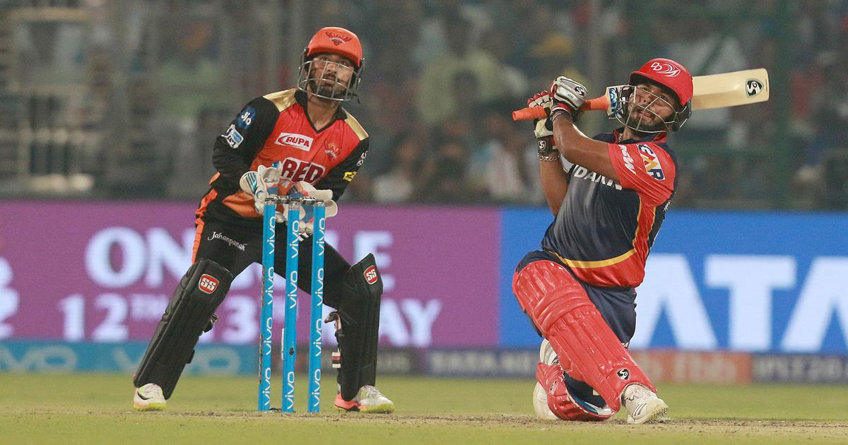 Rishabh Pant's 'Pantastic' century against Sunrisers Hyderabad in IPL 2018