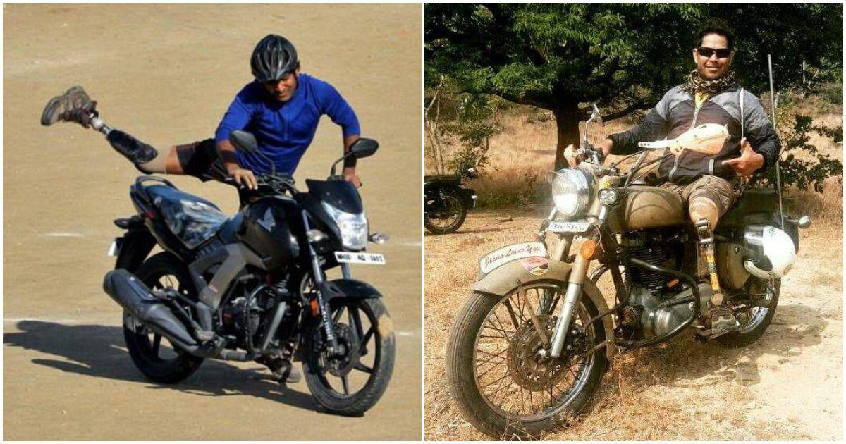 Vinod Rawat and Ashok Munne, two amputees, set to race in the world's highest cross-country rally