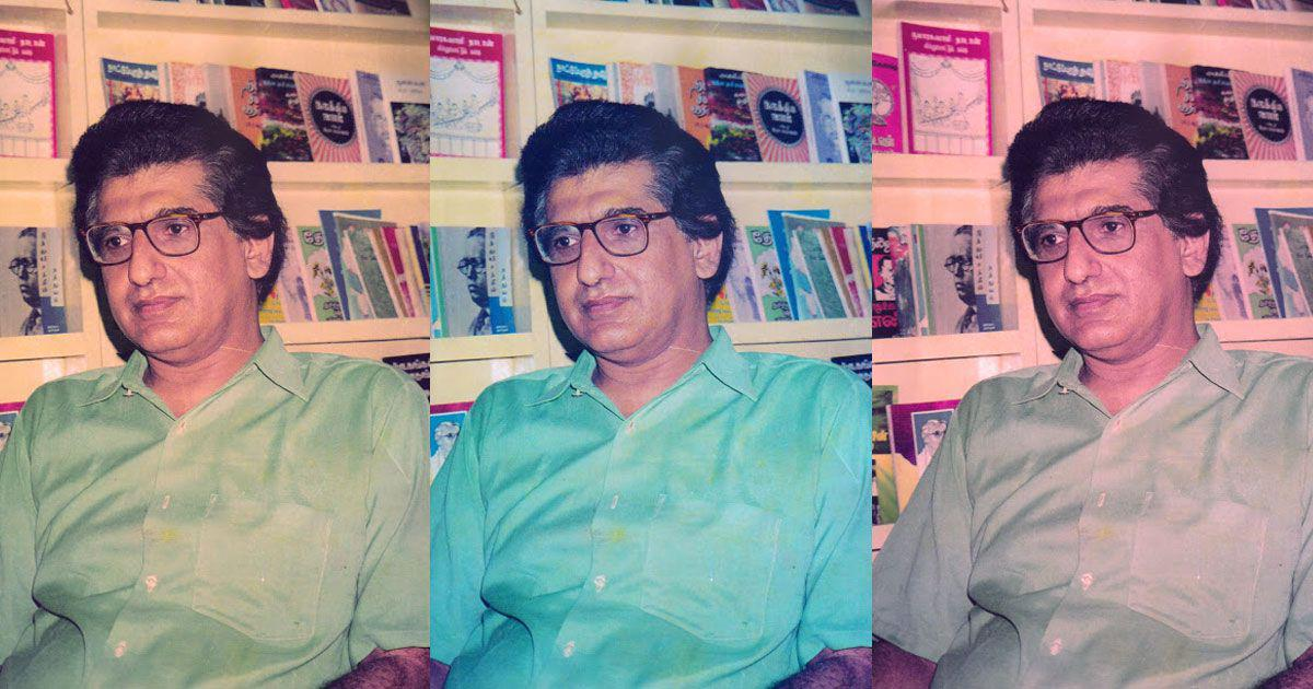 How a Gujarati-speaking writer in Chennai became an acclaimed Tamil anthologist and bookseller
