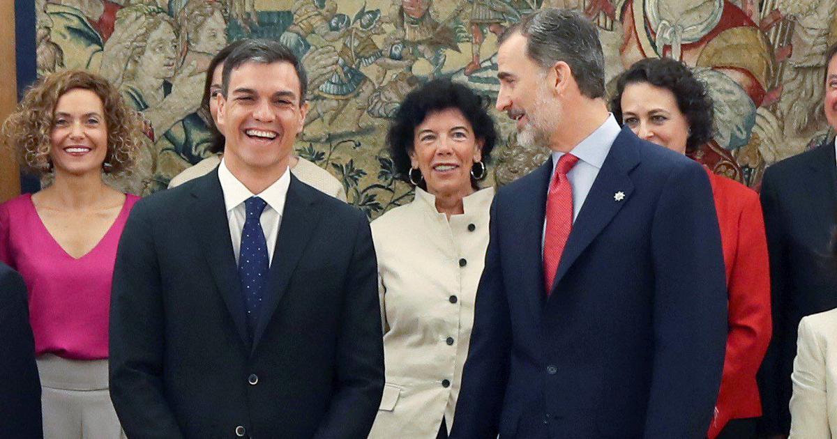 स्पेन में दुनिया की शायद पहली ऐसी सरकार बनी है जिसमें 60 फ़ीसदी मंत्री महिलाएं हैं