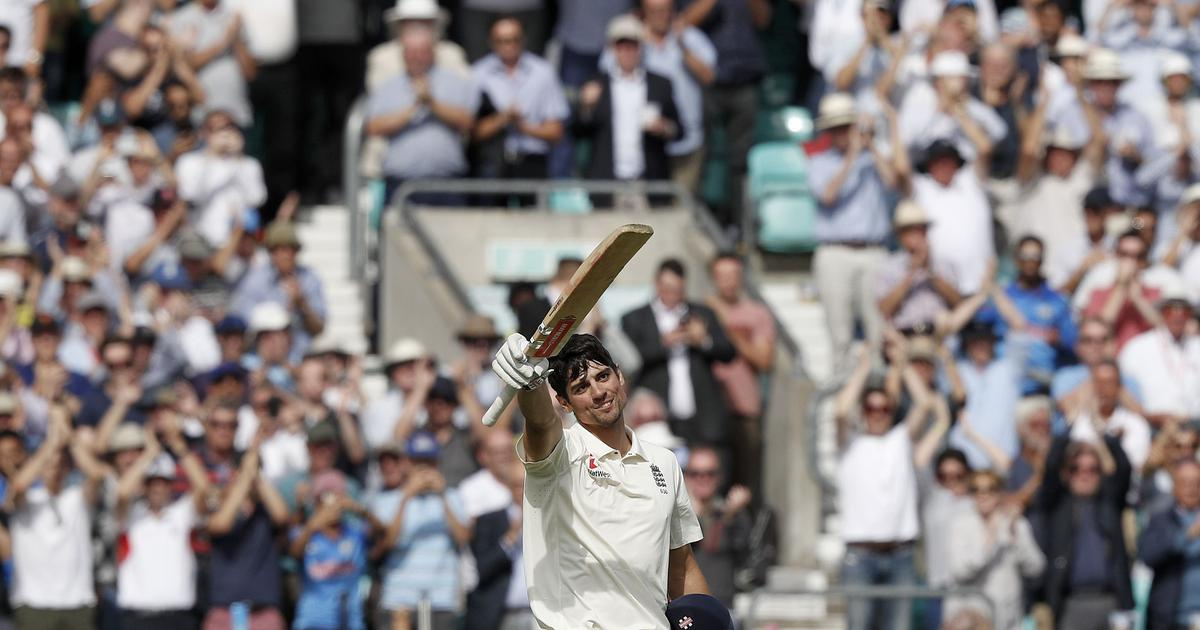India left staring at another defeat after Alastair Cook's farewell ton at The Oval