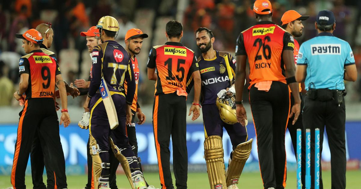 Ipl  Srh Vs Kkr Live Kolkata Beat Hyderabad By Five Wickets To Enter