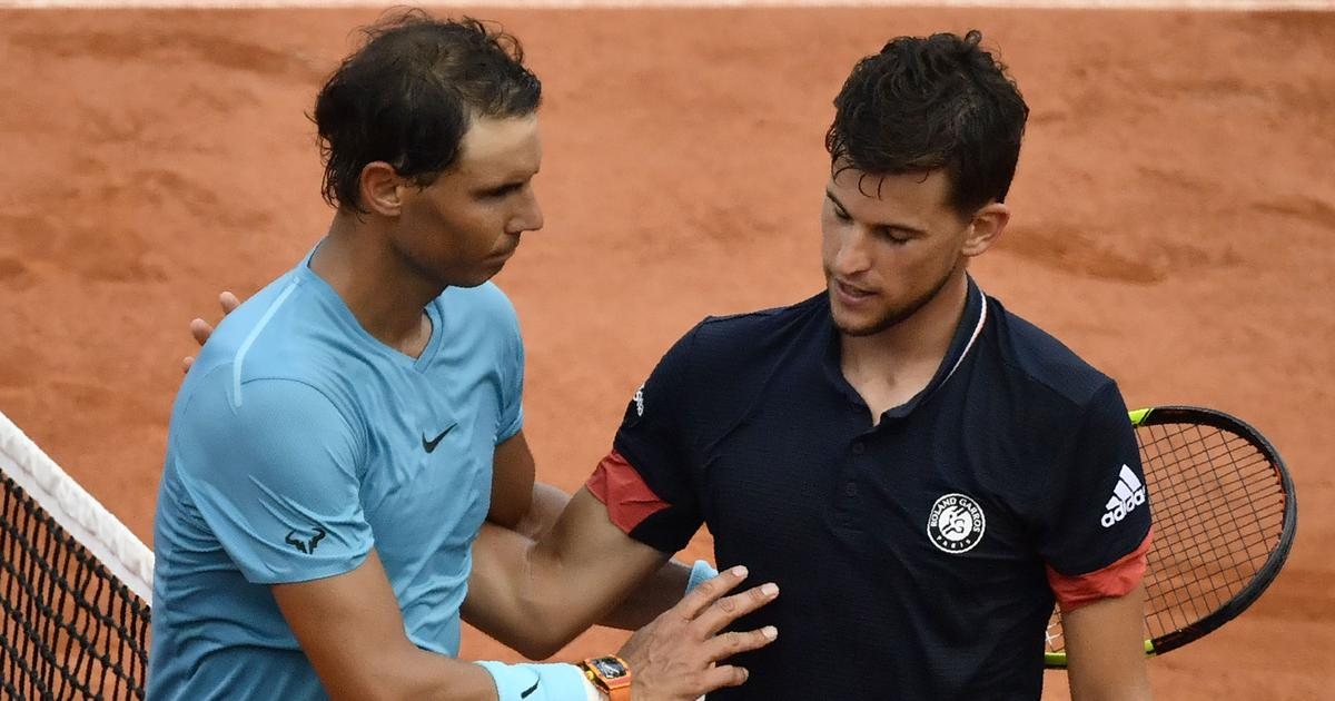 'I enjoyed more watching him on the couch': Thiem hails Nadal after losing French Open final