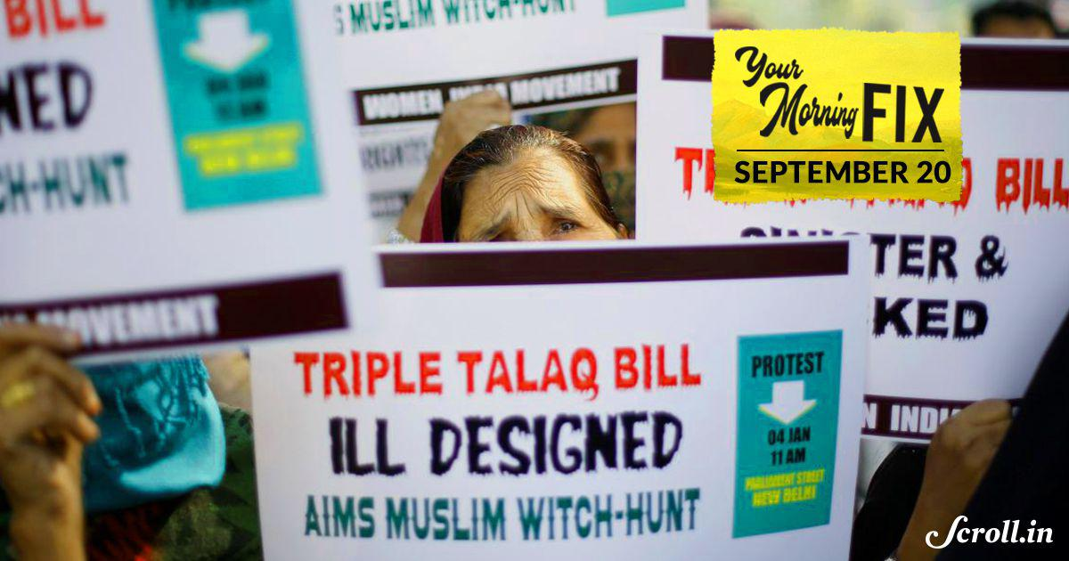 Supreme Court agrees to examine validity of triple talaq law, issues notice to Centre