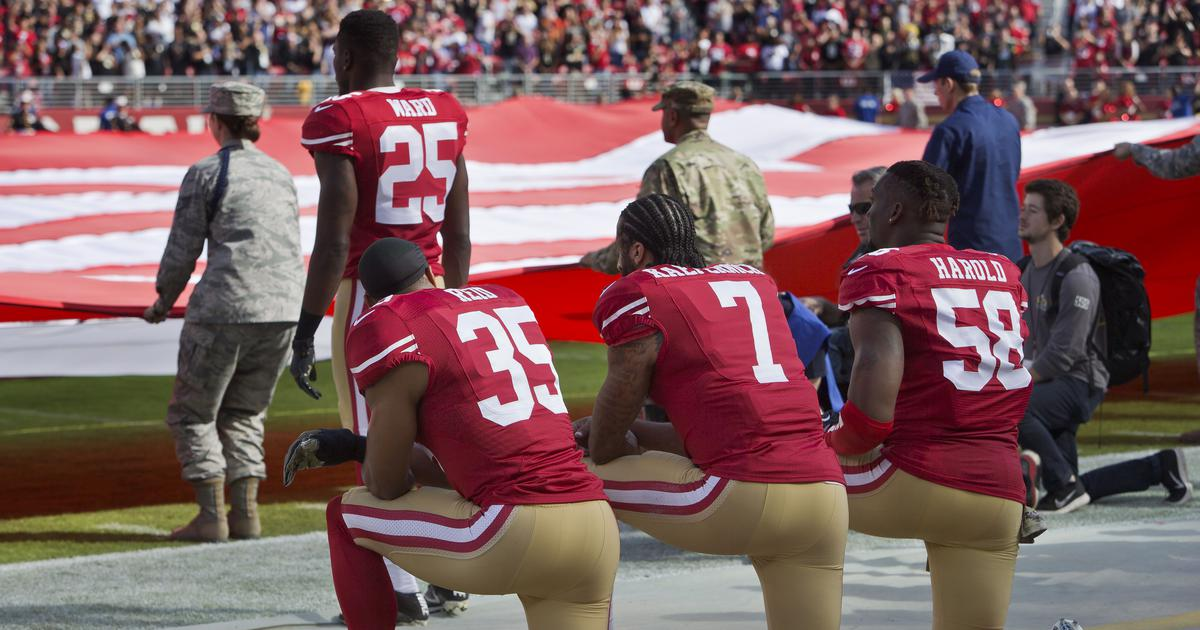 National Football League: Franchise owners, players hold talks over standing for national anthem