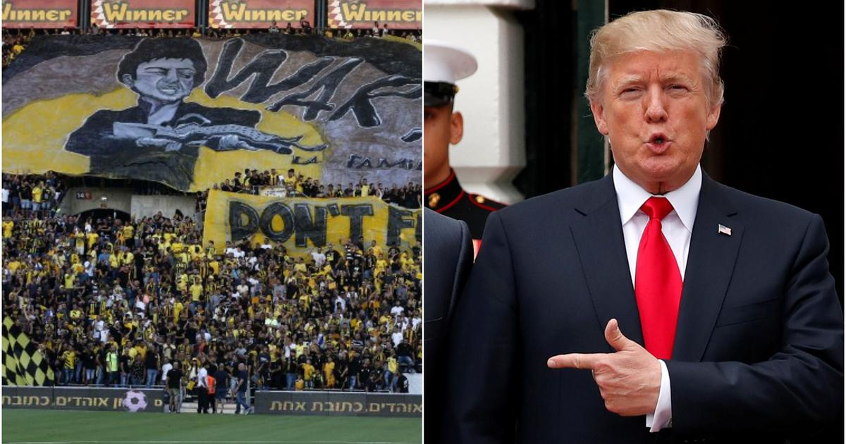 Israeli football club Beitar Jerusalem set to add 'Trump' to its name