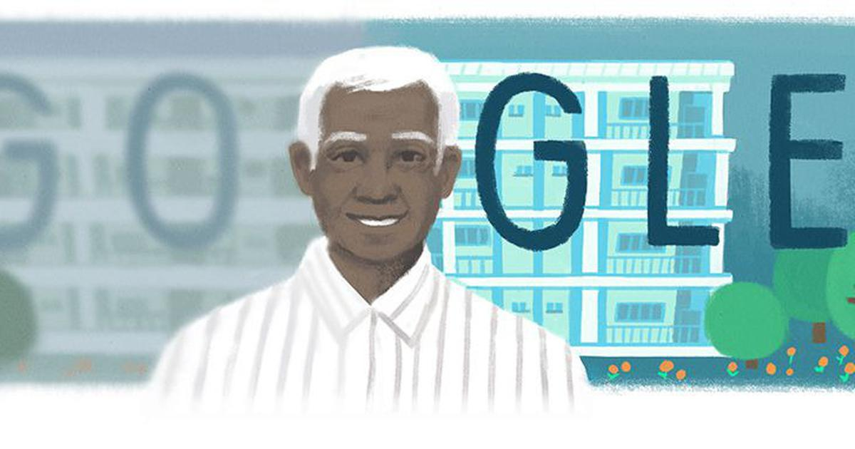Google honours renowned ophthalmologist Dr Venkataswamy with a doodle on his 100th birthday