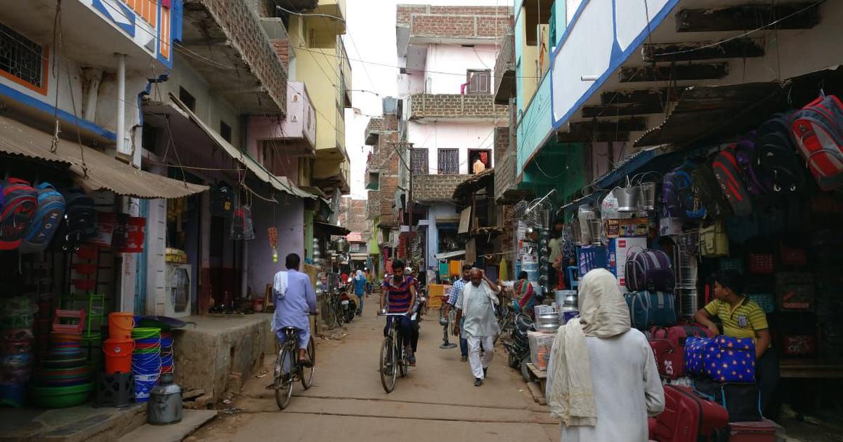 Bihar: In Nasriganj, Eid-eve procession playing song